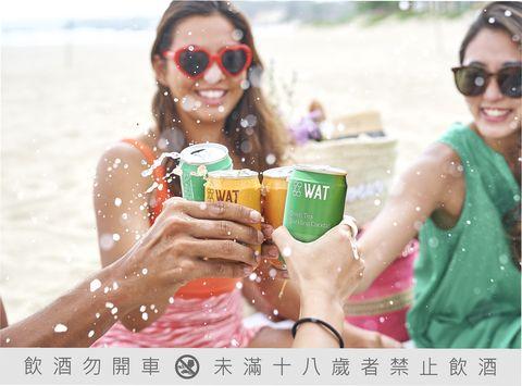 wat來找茶!全新茶飲氣泡雞尾酒 強強聯名「檀島」 全家超商搶先獨家開賣