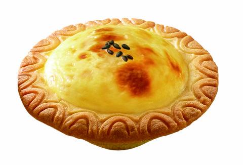 pizzahut必勝客黃金榴槤白咖啡比薩黃金榴槤起司塔