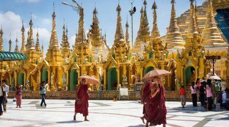 緬甸仰光大金寺旅遊