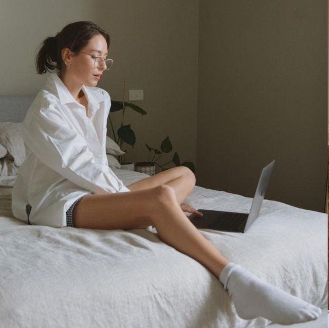 在家工作wfh穿搭必備!15款穿睡衣開視訊會議也正經的網購推薦