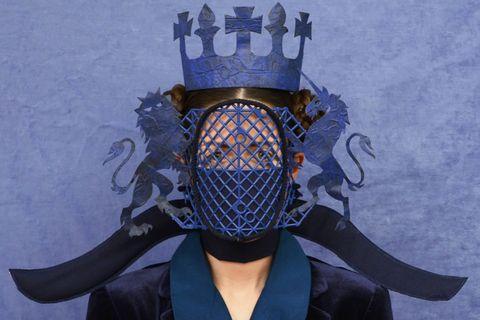 政府官員造型口罩