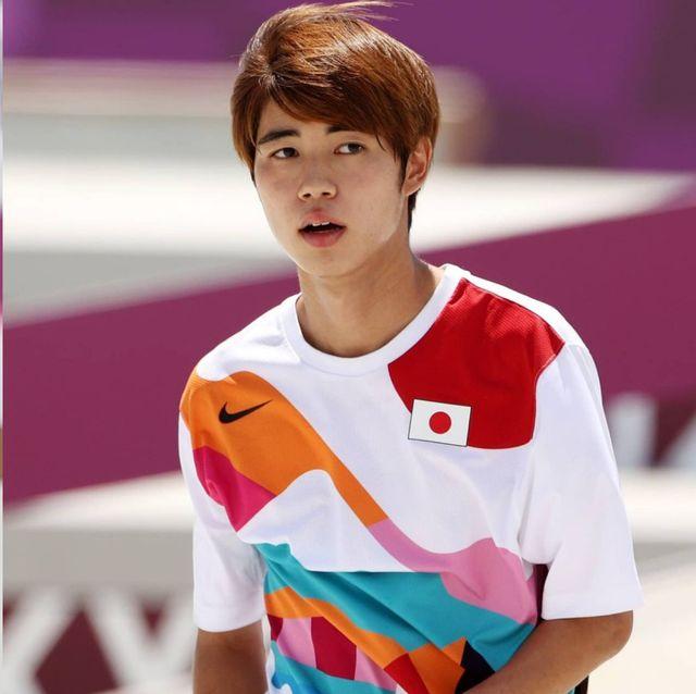 堀米雄斗拿下奧運史上首位滑板金牌!22歲日本滑板王子帥到爆紅 身上滑板制服被熱搜 原來背後有故事