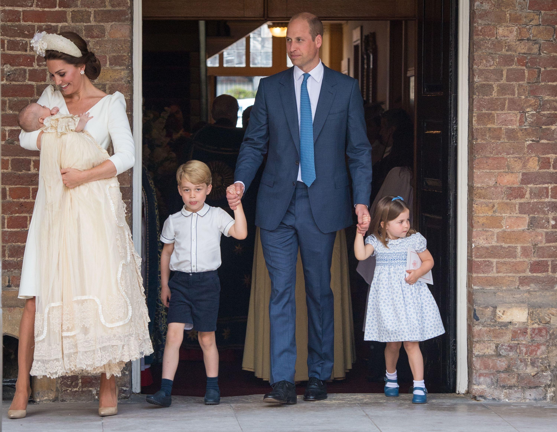 英國皇室,夏綠蒂,夏綠蒂小公主,喬治王子,喬治小王子