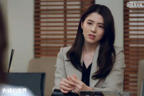 韓素希在《夫婦的世界》飾演小三呂多景