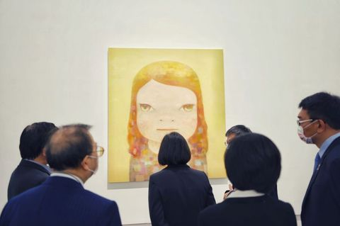 奈良美智 展覽 畫 台灣