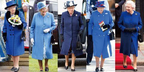 英國女王伊麗莎白二世經典藍穿搭一次看