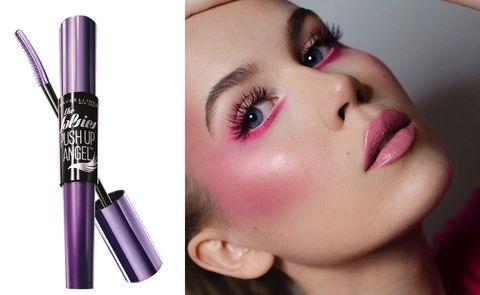 Face, Lip, Eyebrow, Cheek, Eyelash, Nose, Skin, Beauty, Purple, Mascara,