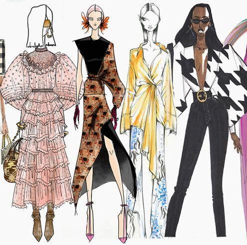 【紐約時裝週】2020 秋冬系列靈感來源大公開!精選30個品牌帶你從插畫看出設計師的內心世界