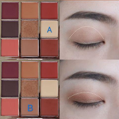 秋季「暖楓橘」眼妝一抹暈出夕陽漸層!橘色眼影顯白、不顯髒3大畫法重點教學
