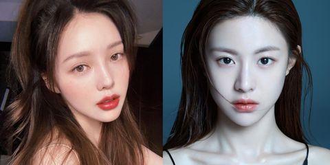 2021年韓系「小翹鼻」妝容