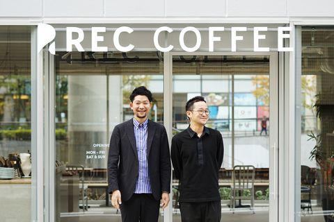 日本福岡超人氣rec coffee登陸「台中」!清水模空間設計、150坪,一喝就愛上
