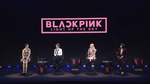 《blackpink light up the sky》今天14號獨家在netflix上線