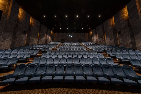 Auditorium, Theatre, heater, Architecture, Concert hall, Stage, Building, Performing arts center, Opera house, Symmetry,