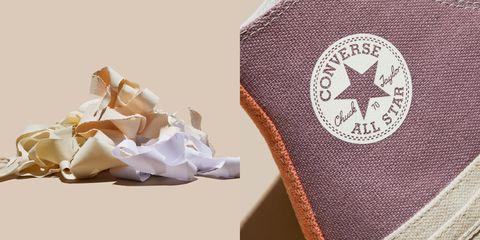 converse tri panel renew 系列利用帆布廢料製成環保球鞋