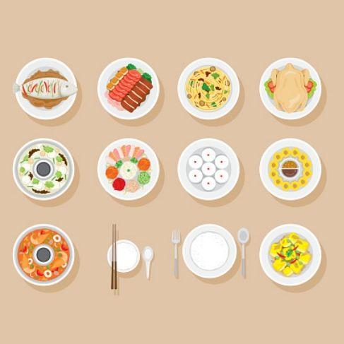 年菜 年夜飯 健康不發胖