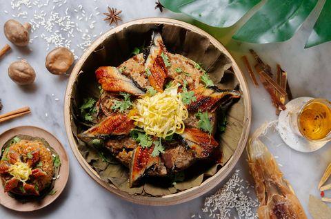 府城星級滋補美食包主餐台南老爺行旅蒲燒鰻米糕