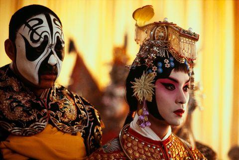 Tradition, Peking opera, Mask, Event, Masque, Ritual,