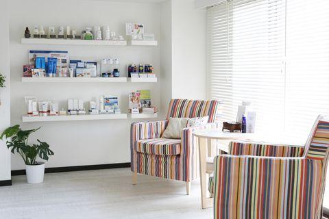 Room, Furniture, Shelf, Property, Interior design, Product, Floor, Wall, Building, Shelving,