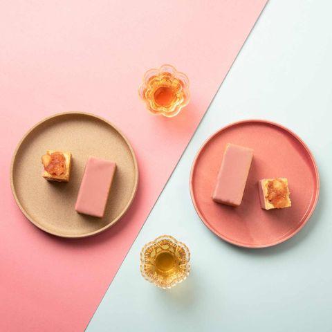 微熱山丘粉紅蘋果酥