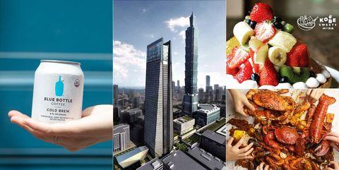 微風南山, 開幕,開幕日期, 神戶限定水果塔, 藍瓶咖啡, 開幕日期, 高空酒吧,手抓海鮮,Dancing Crab,台北