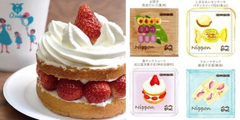 德式甜點, 日式甜點, 日本伴手禮, 日本旅遊, 日本郵票, 東京, 東京伴手禮, 東京名店, 東京旅遊, 東京甜點, 東京美食, 法式甜點, 甜點郵票