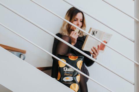 西班牙時尚quillo天然風味洋芋片