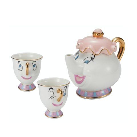 hola迪士尼公主與反派系列!茶壺太太下午茶組、小美人魚長抱枕⋯40款新品想全部搬回家