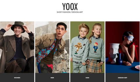 YOOX購物網站