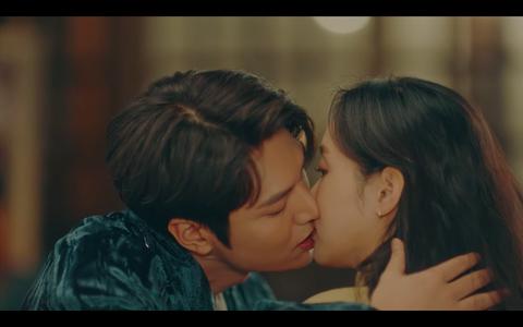 李敏鎬、金高銀主演的《the king:永遠的君主》吻戲集結