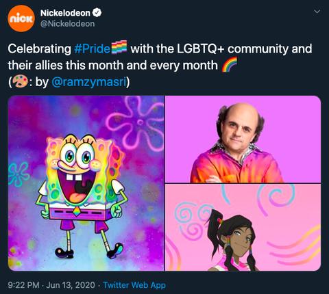 海綿寶寶官宣是同性戀嗎?!