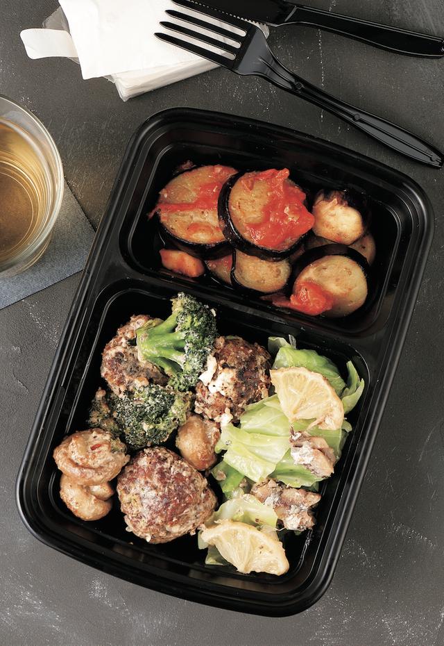 增肌.減脂.高蛋白 meal prep備餐便當:營養師研發, 500卡健身瘦身便當
