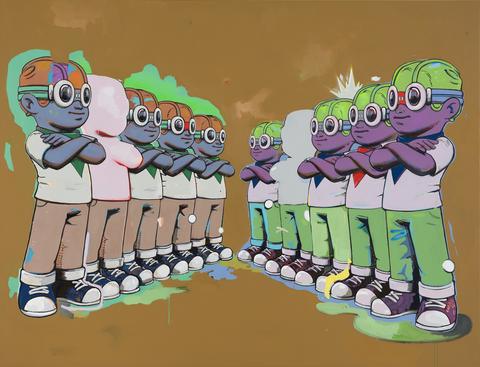 富藝斯拍賣行打造360度線上3d虛擬展廳舉辦《solus by hebru brantley》線上展售會!