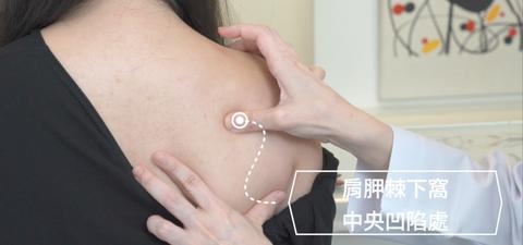 肩頸痠痛穴道