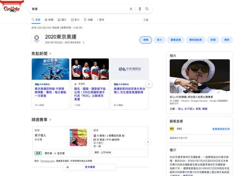google2020東京奧運
