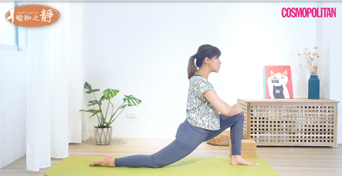 【連靜雯專欄】髖關節伸展瑜伽3式