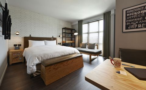 Bedroom, Furniture, Bed, Room, Property, Interior design, Bed frame, Bed sheet, Floor, Hardwood,