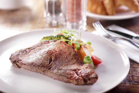 Dish, Food, Cuisine, Ingredient, Veal, Produce, Roast beef, Meat, À la carte food, Recipe,