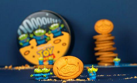 慶祝《玩具總動員》25歲,bac推「三眼怪造型餅乾」還印著三眼怪大臉啊