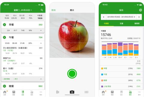 計算卡路里app
