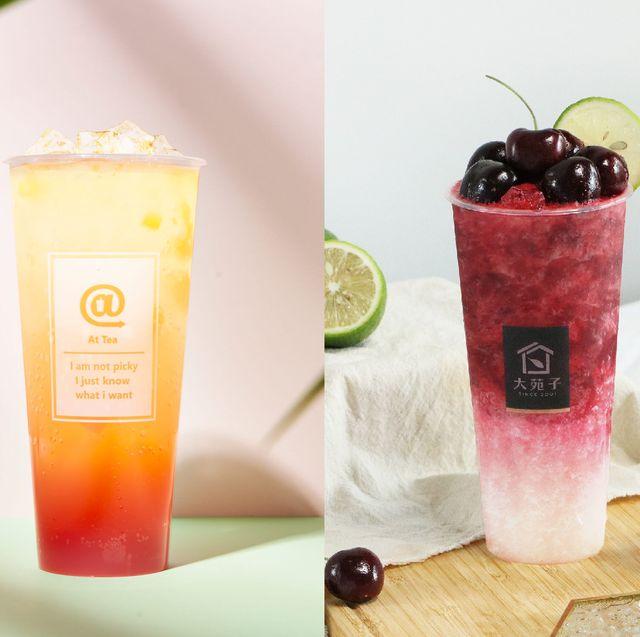7月美食新品署茗職茶attea芒芒秘露、大苑子櫻桃朵朵