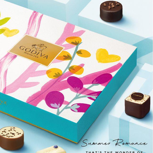 2021七夕限定!《godiva》夏之戀禮盒系列4款限定口味+4款限定情人禮盒