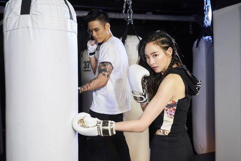 暗黑拳擊b-monsterr進駐A9!張鈞甯:這是瘦手臂和側腰最快方法