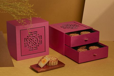 Pink, Box, Party favor, Material property, Magenta, Packaging and labeling, Carton,