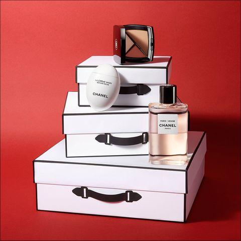 CHANEL香奈兒,聖誕禮物,包裝服務,山茶花,紅色,男朋友,香水香氛,彩妝,beauty