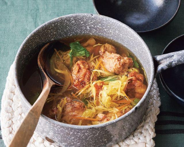 瘦肚湯 日式炸雞咖哩蔬菜湯