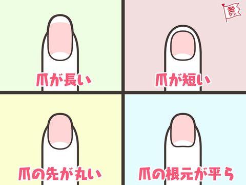 日本超準心理測驗!4種指甲形狀看男生潛藏戀愛性格,扁平狀是撩妹高手