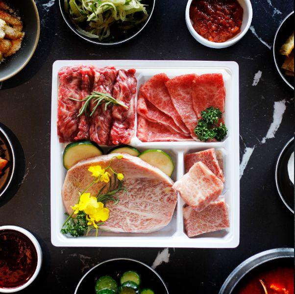 虎三同韓食燒肉打造四款微奢華韓式生鮮燒肉組合