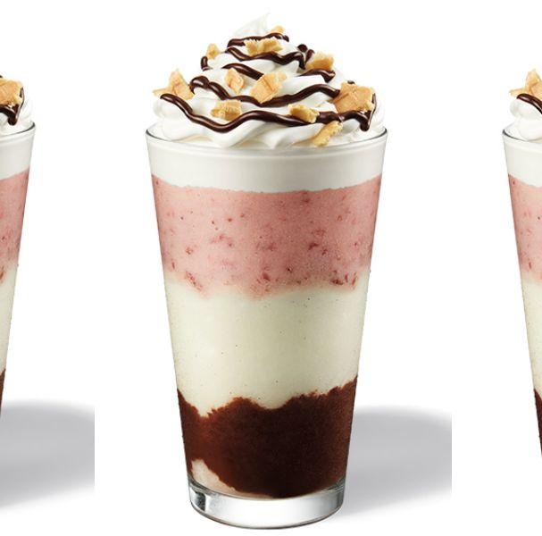 星巴克那不勒斯星冰樂新上市!「草莓+巧克力+鮮奶油」誘人義式甜點組合香濃得太罪惡