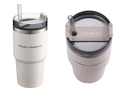 星巴克Starbucks X Stanley打造「夢幻奶油白」系列新品!推出不鏽鋼杯、餐食罐等少女心夢幻逸品
