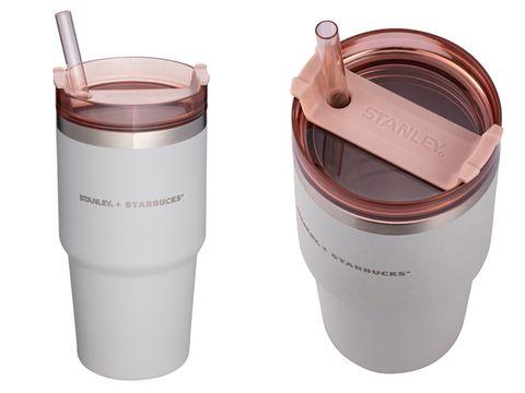 星巴克 x stanley夢幻「清水灰+煙粉紅」系列新品來了!打造滿足少女心不鏽鋼杯、餐食罐等夢幻逸品